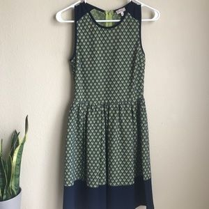 STITCH FIX 💙 fit and flare dress by Pixley